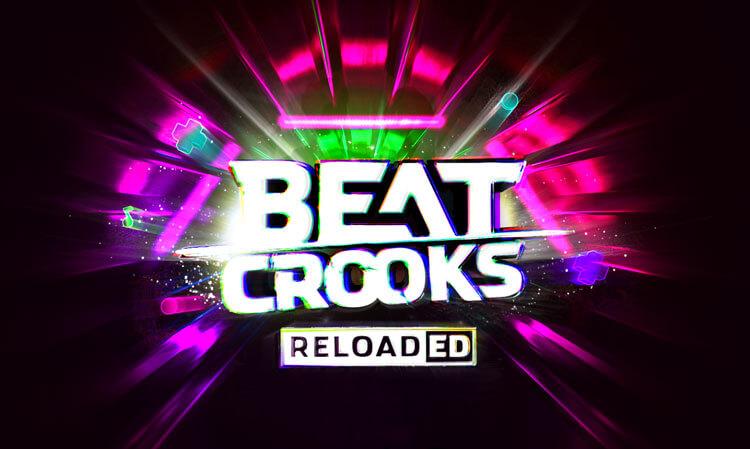 Event design - Beatcrooks Reloaded - Neon photoshop artwork