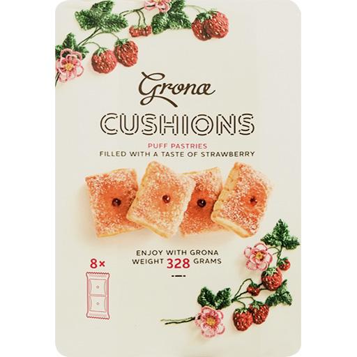 Grona Cushions Strawberry-P