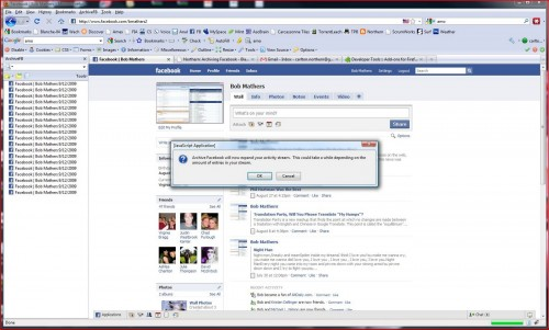 backup facebook accounts