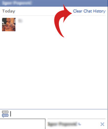 Facebook Clear Chat History