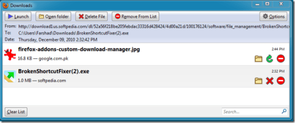 Firefox Download Manager