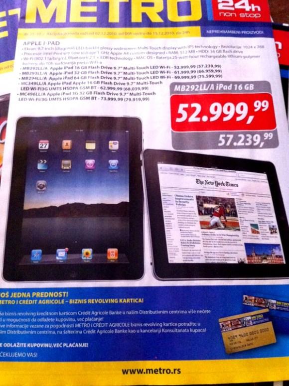 iPad metro