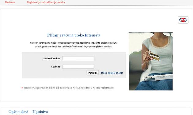 Usluge plaćanja putem interneta