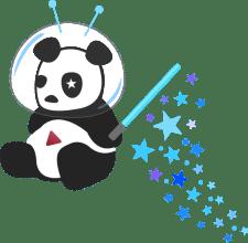 Kosmiška panda