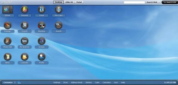 Glide OS Desktop