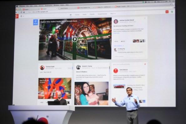 google plus redesign