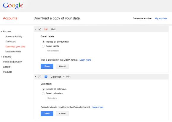 GmailcalendarTakeout