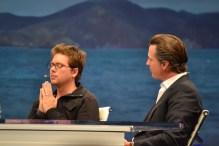 Biz Stone, Co-Founder of Twitter; Gavin Newsom, Lieutenant Governor of California