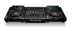 2 x CDJ 2000 NX2 1 x DJM 900 NX2