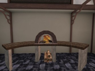 Second Life Marketplace MEDIEVAL KITCHEN HALF CIRCLE