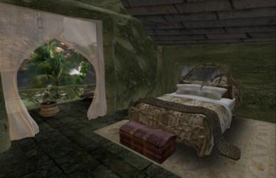 Second Life Marketplace Enchanted Cottage house furnished 500 animations! Elven Medieval fantasy prefab
