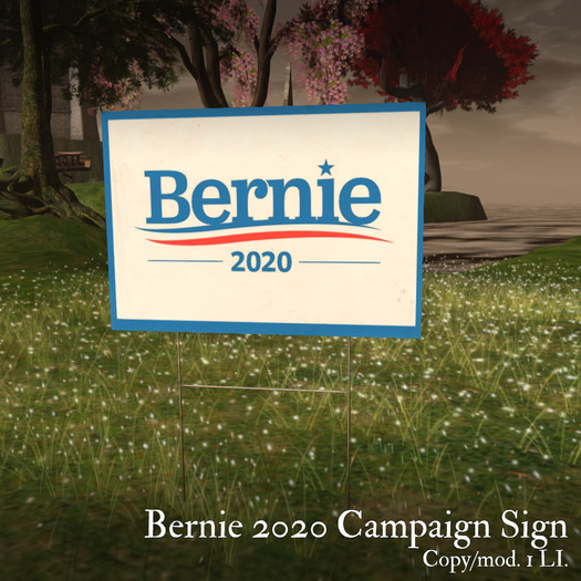 second life marketplace bernie 2020