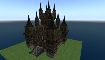 Second Life Marketplace Giant Castle Gothic style incl a free castle and a free dungeon