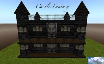 Second Life Marketplace **PROMO** DREAMS Castle Fantasy 24 Prims Gothic Dark Castle