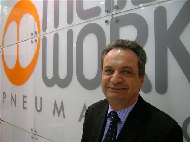 Hernane Cauduro, diretor da Metal Work Pneumática Brasil