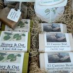 Gardenesque Handmade Soap at Paso Robles Farmers Market