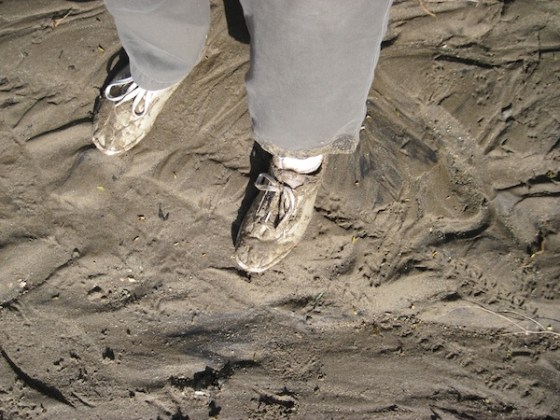 Sand on My Shoes and Trousers