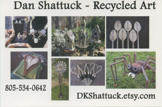 Dan Shattuck's Illustrated Business Card