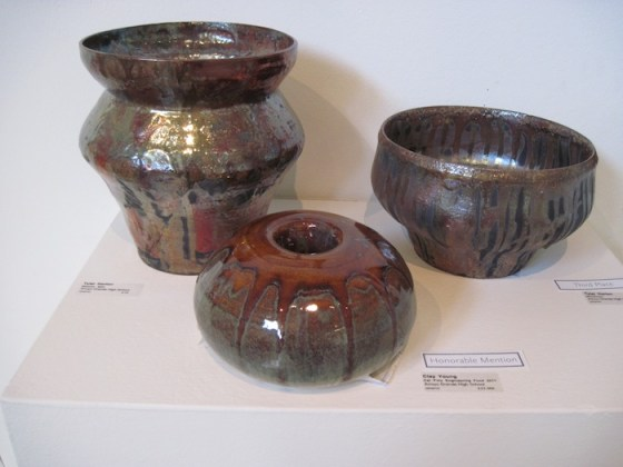 Some Pottery from 44th High School Portfolio Competition