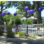 Entrance to Second Annual Central Coast Lavender Festival