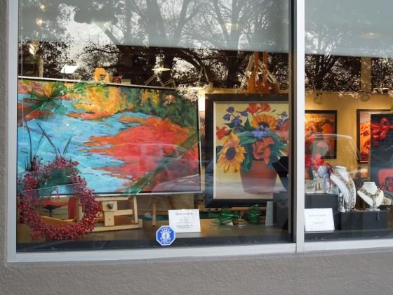 Window, Studios on the Park, December 19, 2011