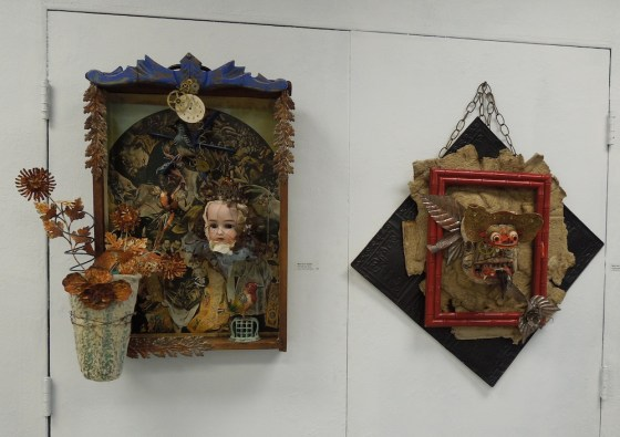 Mary Ann Statler's-Sculptures, Mixed Media