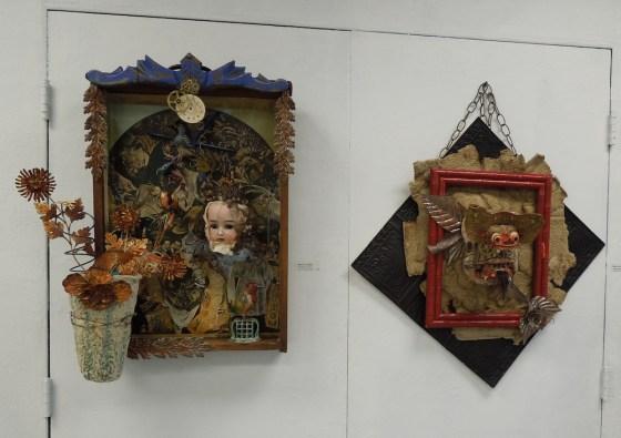 Mary Ann Statler's-Sculptures, Mixed Media