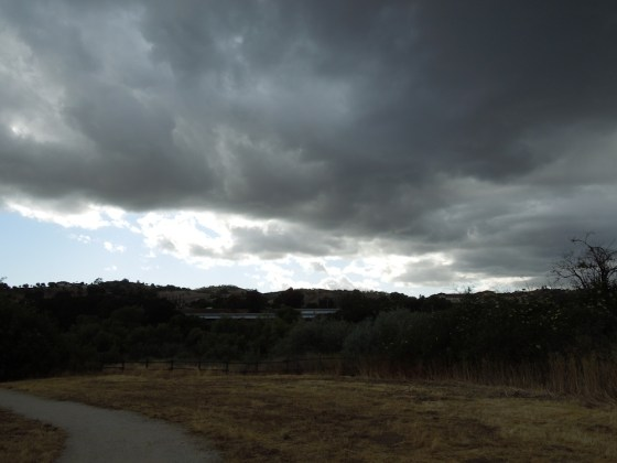 "The Sky Over Paso Robles after I came home from ""Don't Feed the Artists."""