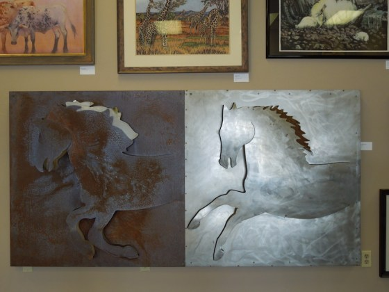 """Storm Ponies"" by Holland Hollowsworth in heavy metal."