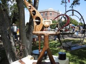 Robert Roemisch's River Art Sculpture