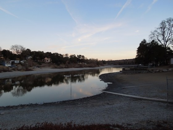North End of Atascadero Lake, December 30, 2013.