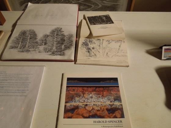 Harold Spencer's Sketchbook