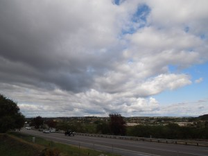 Looking Across 101 from South Vine