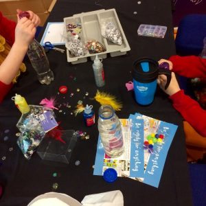 Crafting with Twinkl, at the Childcare Expo!