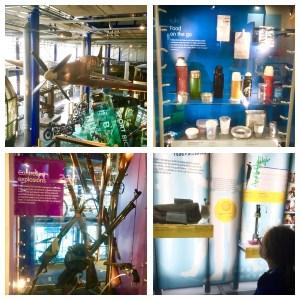 Exhibits at Thinktank Birmingham.
