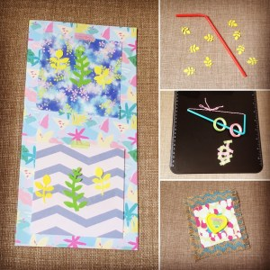 Creative play with Veemcdee Packs by Post.