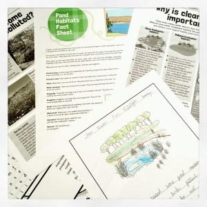 Geoscience and ELA worksheets.