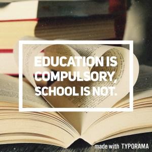 School deregistration information for parents interested in home education.