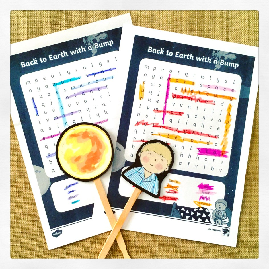 Back to Earth with a Bump teaching resources from Twinkl.