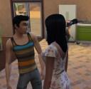 Sebastian was originally interested in Adrienne... until he met Bree.