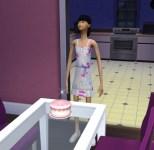 Danielle had an awkward moment as she was becoming a teen.