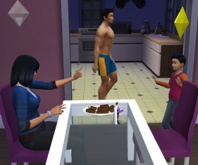 Bree: No more brownies Felix! You've already had two!