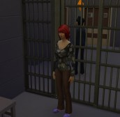 Aileen: She got me locked up and she stole my hairstyle. I'll make Officer Sloane pay!