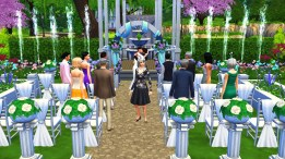 """Phoebe looked so confused while everyone else was watching the wedding. She's like, """"What's going on? Where am I?"""""""