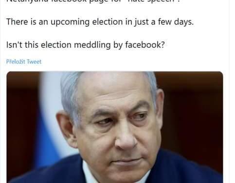 Facebook zasiahol do volieb v Izraeli Podľa Jerusalem Post tri dni pred vo…