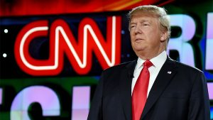 Republican presidential candidate Donald Trump is introduced during the CNN presidential debate at The Venetian Las Vegas on December 15, 2015 in Las Vegas, Nevada. (Ethan Miller/Getty)