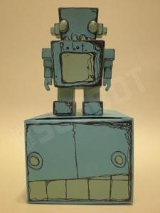 Shan Michael Evans_Wooden Robot