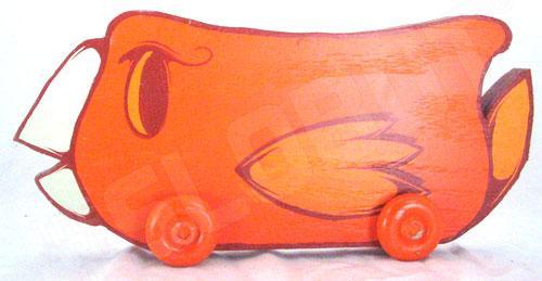 Charlie Alan Kraft Orange Bird Toy