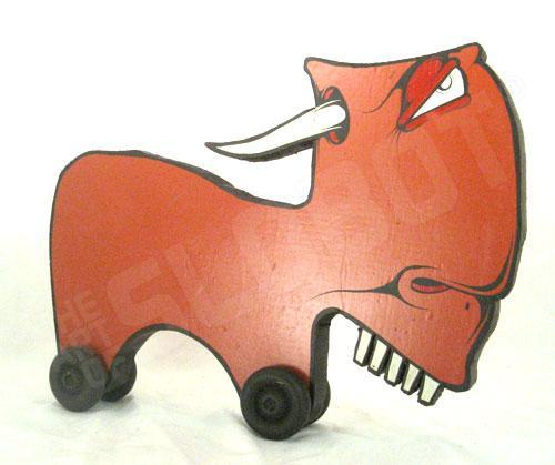 Charlie Alan Kraft Brown Toy