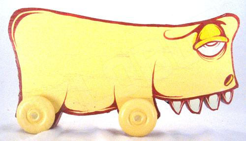 Charlie Alan Kraft Yellow Toy